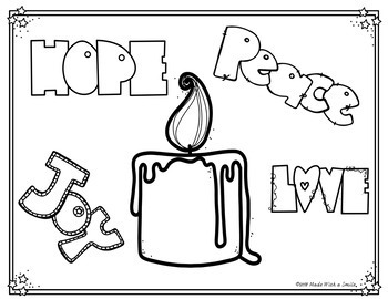Advent Coloring Sheets