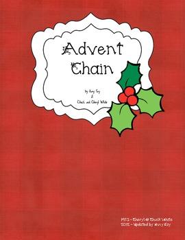 Advent Countdown Chain