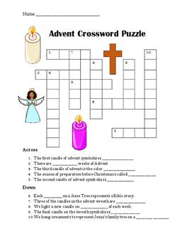Advent Crossword Puzzle