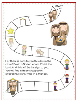 Advent Game for Toddlers