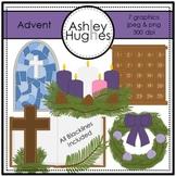 Advent Clipart {A Hughes Design}