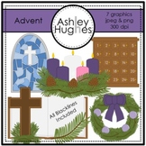 Advent Clipart {A Hughes Design}