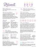 Advent Infographic