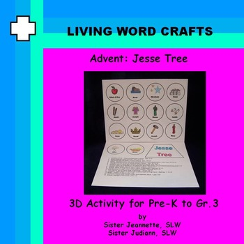 Advent Jesse Tree Class Project  for Pre-K to Gr. 3