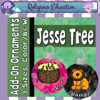 Jesse Tree Advent Extra Ornaments