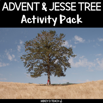 Advent - Jesse Tree Reflection Journal {FOR SCHOOL AND HOME}