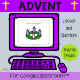 Advent Lesson Distance Learning