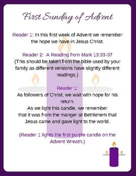 Advent Prayer Cards