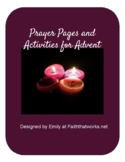 Advent Prayer Pages and Activities