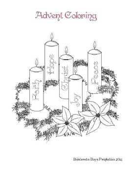 Advent PreK Printable Learning Pack