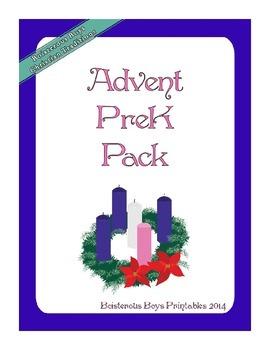 Advent PreK Printable Learning Pack