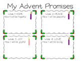 Advent Promises Worksheet