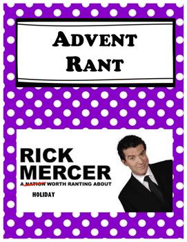 Advent Rant