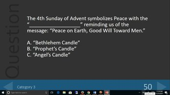 Advent Game - Learn About Advent Playing a Fun Game!
