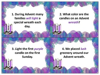 Advent SCOOT! Multiple ELA Language Arts Skills