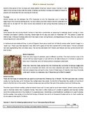 Advent Sunday - Reading Comprehension Christmas Text / Worksheet