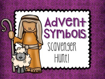 Advent Symbols Scavenger Hunt