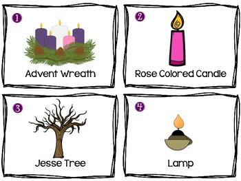 Advent Symbols Scavenger Hunt