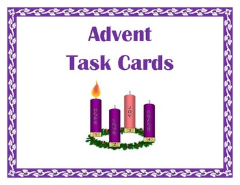 Advent Task Cards