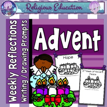 Advent Weekly Reflection Worksheets