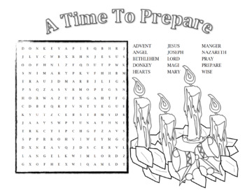 Advent Word Search