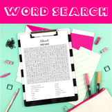 Advent - Word Search