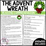 Advent Wreath Christmas Comprehension - Reading Strategy Worksheet