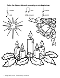 Advent Wreath Color by Note
