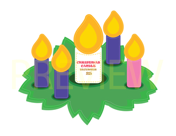 Advent Wreath Craft and Ornament