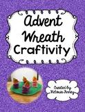 Advent Wreath Craftivity