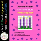 Advent Wreath Mystery Picture Parts of Speech