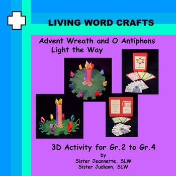 Advent Wreath O Antiphons Simple Acts of Christmas Kindness Gr. 2 – 4