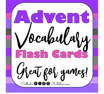 Advent & Christmas Catch Phrase Game Cards