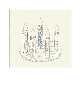 Advent Wreath Study Lesson Plan