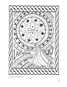 Advent Wreath and Coloring Pages