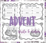 Advent {Write & Color}