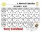 Advent Calendar 2016, Advent Writing Book & Bulletin Board Display