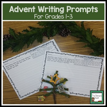 Advent Writing Prompts for the Primary Grades