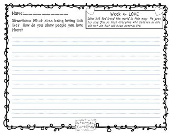 Advent Activities Writing Prompts for the Primary Grades