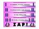 Advent ZAP! Alphabetical Order