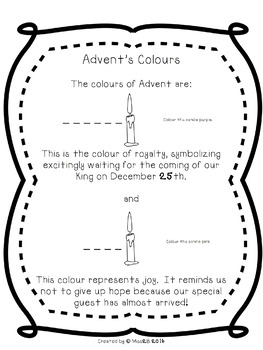 The True Meaning of Advent and Christmas Activities
