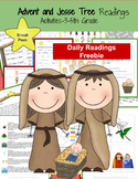 Advent and Jesse Tree Daily Readings: Freebie