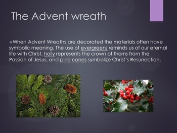 Advent slideshow and guided notes