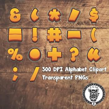 Adventure Alphabet Alpha Clip Art