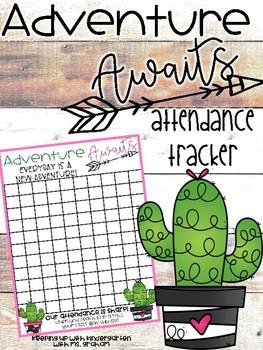 Adventure Awaits Attendance Tracker