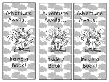 Adventure Awaits Bookmark {Freebie}