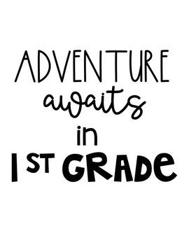 Adventure Awaits -- Bulletin Board