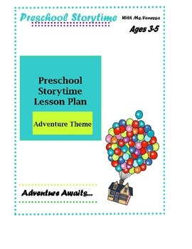 Adventure Awaits Preschool Lesson Plan