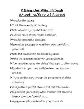 Adventure Book Club Booklet