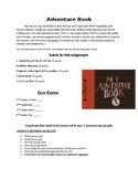 Adventure Book Project